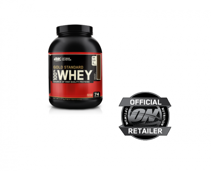 Optimum Nutrition Whey Gold Standard 2273g Dose Chocolate Mint