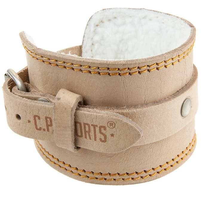 C.P. Sports Premium Fußschlaufe Leder, gepolstert