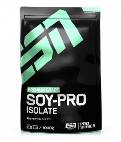 ESN Soy-Pro Isolate Soja Isolat Standbeutel 1000g Pulver