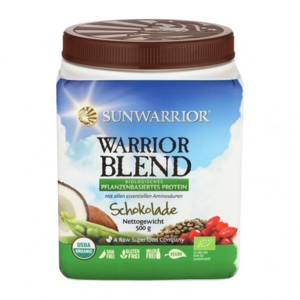 Sunwarrior Warrior Blend 750g Pulver Plant-Based organic Protein, vegan