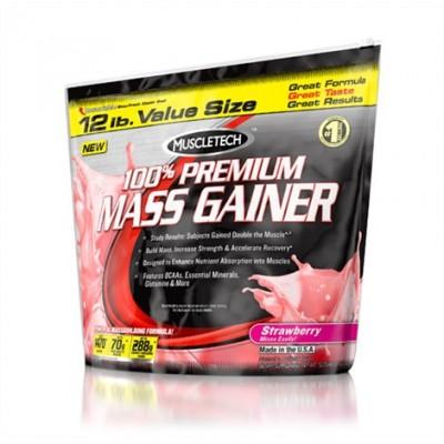 MuscleTech 100% Premium Mass Gainer 12lbs (5,44kg) Sonderposten!