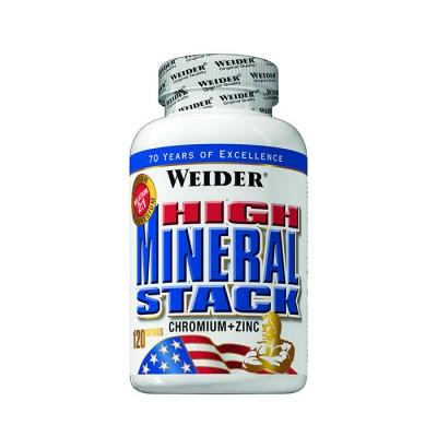 Weider High Mineral Stack Dose 120 Kapseln