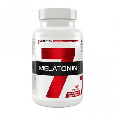 7Nutrition Melatonin 60 vegan Caps, 5mg!