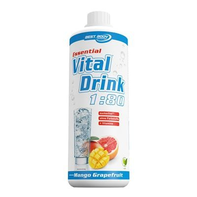 Best Body Nutrition Essential Vital Drink PET 1000ml Ohne Farbstoff!