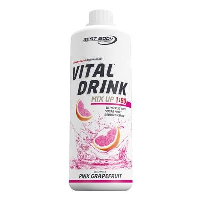 Best Body Nutrition Low Carb Vital Drink Pet 1000ml, viele Sorten!