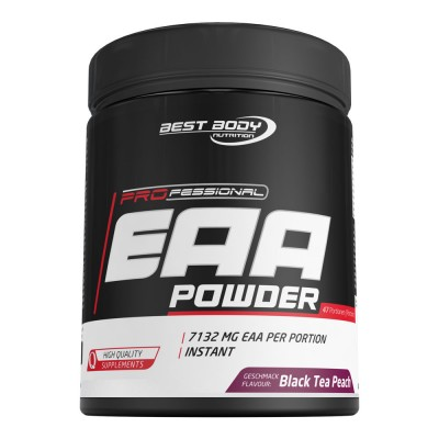 Best Body Nutrition Professional EAA Powder 450g Dose, kohlenhydratfrei! Blood Orange