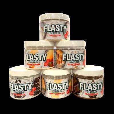 Blackline Tasty Flasty Deluxe 250g, Aromapulver mit Stückchen und Laktase!