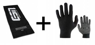 Bundle für Fitness-Studio-Wiedereröffnung Handtuch + Fingerhandschuhe!