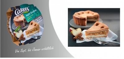 Cakees Apfelkuchen 500g American Style Apple Pie, 100% natural