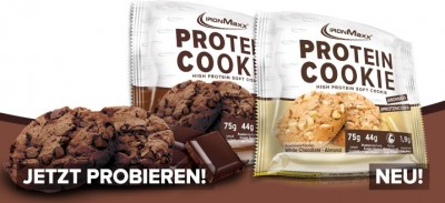 IronMaxx Protein Cookie 75g Soft Cookie 52% Protein!
