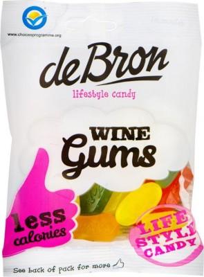 De Bron Wine Gums 100g, zuckerfreie Weingummis