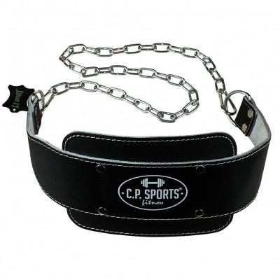 C.P. Sports Dip-Gürtel Leder, gepolstert
