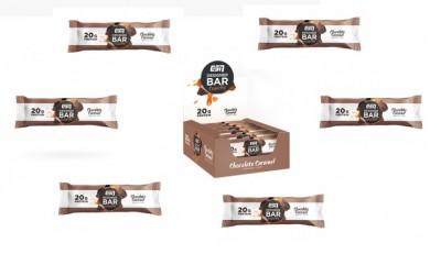 ESN Designer Bar Crunchy 60g Riegel, 20g Protein, soft & Crunchy mit flüssigem Kern Salted Caramel