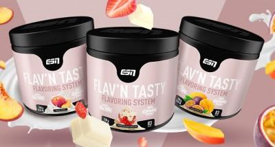 ESN Flav´n Tasty 250g Aromapulver mit Stücken und Laktase! Chocolate Fudge