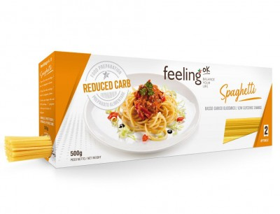Feeling OK Spaghetti 500g, reduced Carp, high Protein