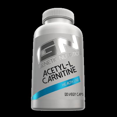 GN Laboratories Acetyl-L-Carnitine 120 Vegy Caps, 1000mg!