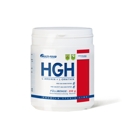 MULTI-FOOD HGH-Pulver Dose 250g Pulver