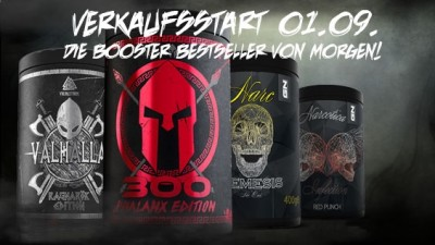 GN Laboratories Sondereditionen! Booster, Pre Workout