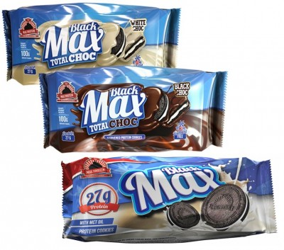 Max Protein Black Max Protein Cookies 100g, 4-6 Cookies