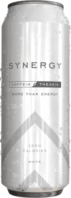 More Nutrition Synergy 500ml Energy Drink, 0 sugar! inkl. 0,25€ Pfand White (Beerengeschmack)