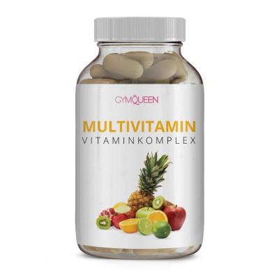 GymQueen Multivitamin Vitamincomplex 60 Kapseln Dose