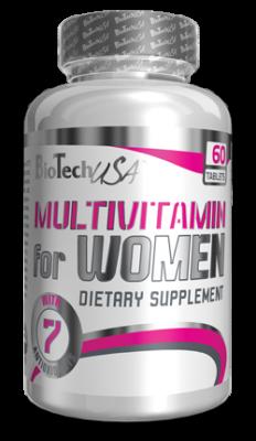 BioTechUSA  Multivitamin for Women Dose 60 Tabletten