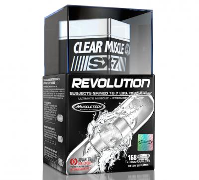 MuscleTech Clear Muscle SX-7 Revolution 186 Kapseln, HMB & ATP
