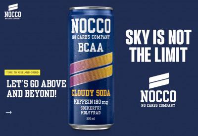 Nocco BCAA Drink 330ml mit Koffein Cloudy Soda LIMITED!