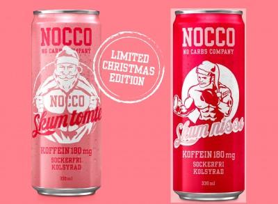 Nocco BCAA Drink 330ml mit Koffein LIMITED X-MAS EDITIONEN! Skum nisse