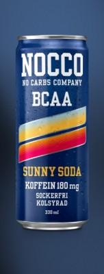 Nocco BCAA Drink 330ml mit Koffein VIELE SORTEN! Sunny Soda