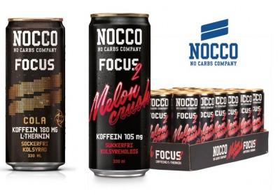 Nocco Focus Drink 330ml mit Koffein Melon Crush