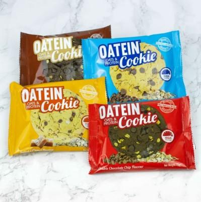 Oatein Cookie 75g, veganer Proteincookie mit Crispies