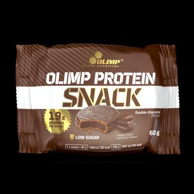 Olimp Protein Snack 60g, knusprige Waffel mit Proteincremefüllung