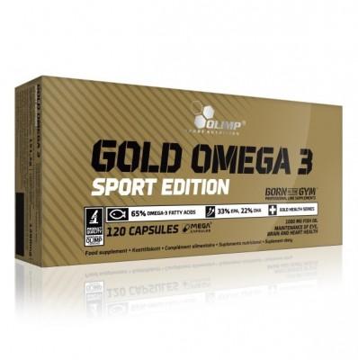 Olimp GOLD OMEGA 3 SPORT EDITION Blister 120 Kapseln