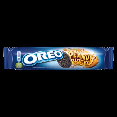 Oreo's Oreo Peanut Butter 14 Cookies 154g!