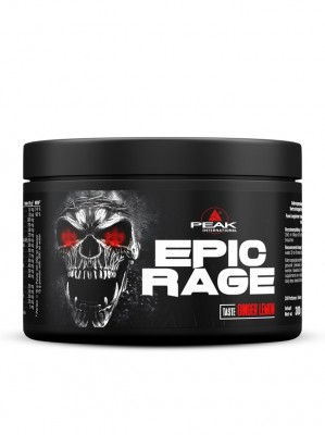 Peak Epic Rage 300g Pulver Focus-Booster Ginger Lemon