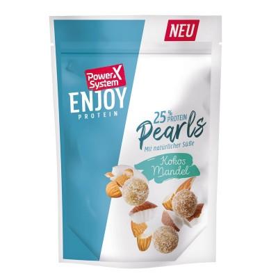 Power System Enjoy Protein Pearls 25% naturale Protein Bällchen Kokos Mandel