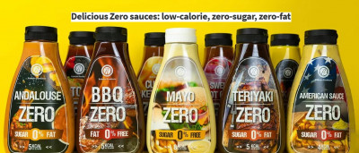 Rabeko Zero Sauces & Syrups 425ml