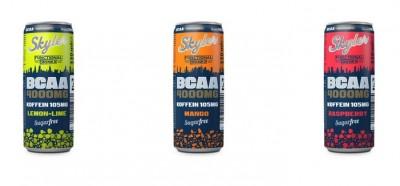 Skyler 4000mg BCAA Drink 330ml + 105mg Koffein, sugarfree! inkl. Pfand