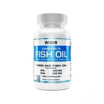 Sonderangebot! Weider Fish Oil 180 Kapseln, Omega-3 60%! statt 24,90€!