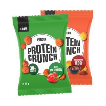 Sonderposten Weider Protein Crunch Balls 6x50g 30% Protein MHD 02/21! Paprika