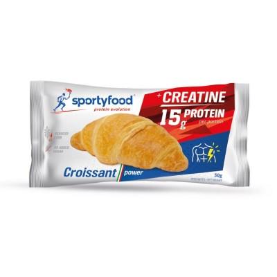 Sportyfood Protein Croissant 50g, 30% Protein, mit Kreatin