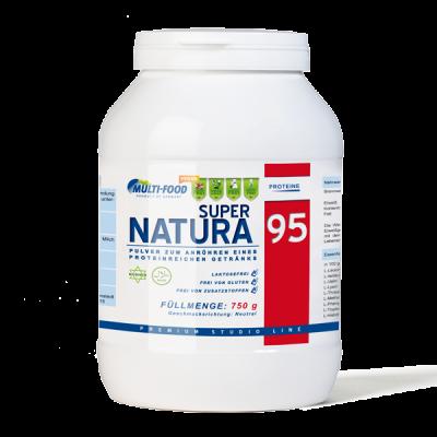 MULTI-FOOD Super Natura 95 Dose 750g Pulver Erbsenproteinisolat