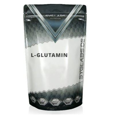 SygLabs L- Glutamin Beutel 500g Pulver