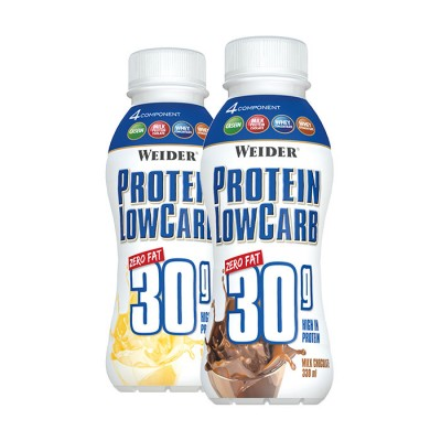 WEIDER Protein Low Carb Drink 330ml, 30g Protein! Chocolate MHD: 07.11.!