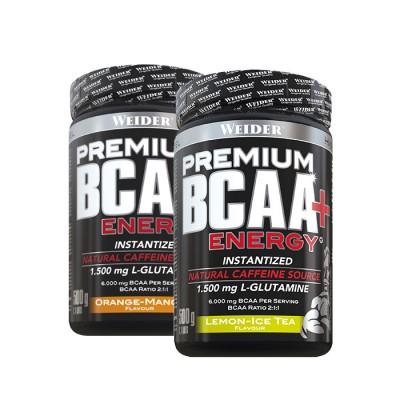 Weider Premium BCAA Powder + Energy 500g Pulver, Sonderposten!STATT 36,99€!