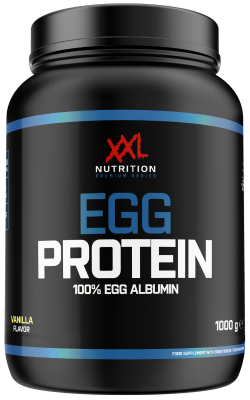 XXL Nutrition 100% Egg Protein 100g Eiklarpulver, auch für Fluff