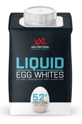 XXL Nutrition 100% liquid Egg Whites 500ml, flüssiges Eiklar pasteurisiert, Tetrapack