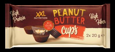 XXL Nutrition High Protein Peanut Butter Cups 2x20g, vegan!