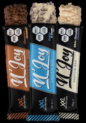 XXL Nutrition N'Joy Protein Bar 55g Riegel, 36% Protein